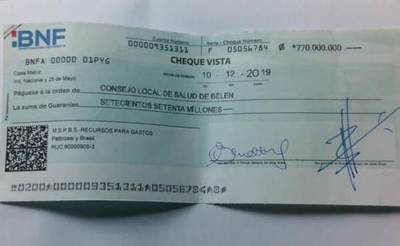 Funcionarios del hospital de la Aldea SOS cobrarán sueldos atrasados