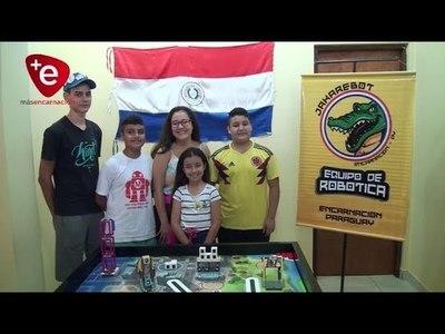 PRIMER PUESTO PARA ''JAKARE BOT'' DE ENCARNACIÓN EN FIRST LEGO LEAGUE PARAGUAY 2019