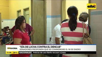 """""""Día de lucha contra el dengue"""""""