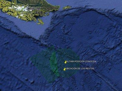 Fuerza Aérea de Chile descarta encontrar supervivientes del avión siniestrado