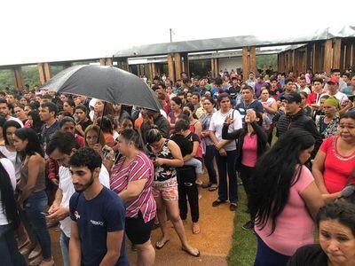 Multitudinario adiós a Brunito