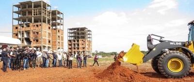 Avanzan los trabajos de infraestructura en el 'Complejo Mariano Roque Alonso'