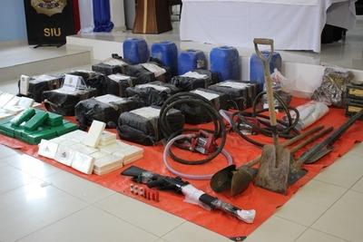 Operativo Tijera: Fiscales señalan que es una de las mayores cargas de cocaína