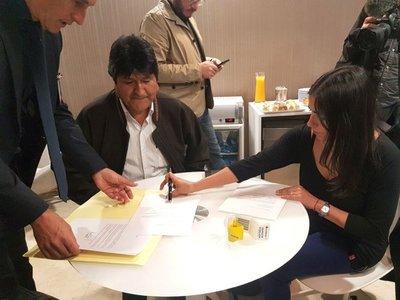 Gobierno de Alberto Fernández da refugio a Evo Morales en Argentina