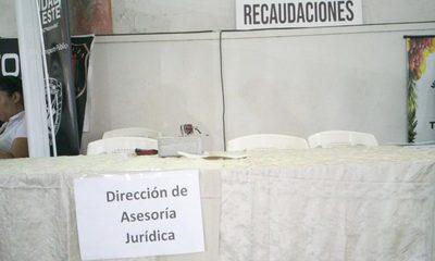 Dirección de Asesoría Jurídica ausente en Feria de Transparencia