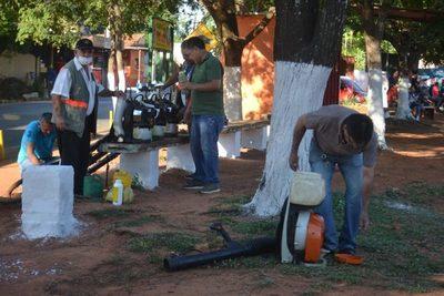 Barrio Las Mercedes: Minga ambiental contra el dengue