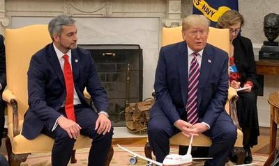 Mario Abdo y Trump acuerdan fortalecer relaciones diplomáticas