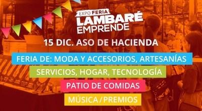 Expo Feria en Lambaré será mañana