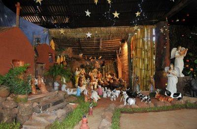 Invitan a visitar pesebre gigante de 70 años de tradición