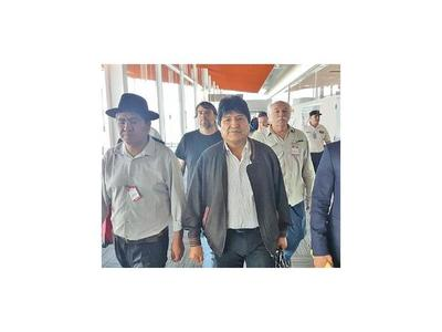Morales insiste en que no hubo fraude