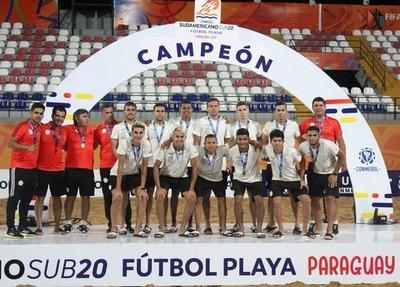Los Pynandi obtuvieron el tercer puesto en el Sudamericano Sub 20