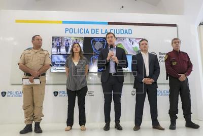 La Policía argentina detiene a cuatro personas por el asesinato de un turista británico