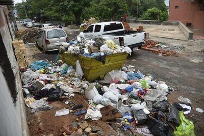 Asunción sucumbe ante la basura