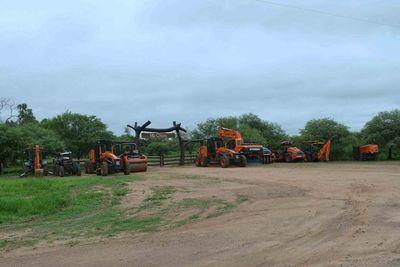 Bacheo interrumpido por lloviznas en el Chaco