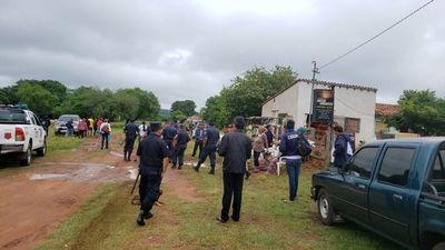 Confuso desalojo de siete familias en Mbuyapey