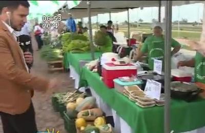Feria Agropecuaria 'Año Paha' en la Costanera