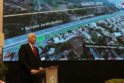 Ministro destaca obras viales que impulsan para conectar al Paraguay con el mundo