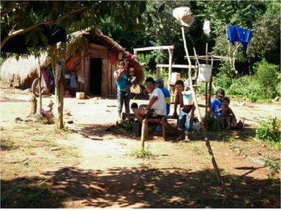 Denuncian falta de alimentos en comunidad Mbya Guarani