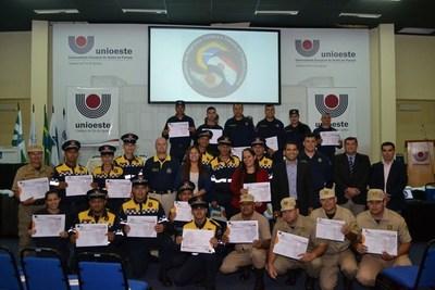 Policías de tránsito de CDE, Franco y Hernandarias recibieron capacitación internacional