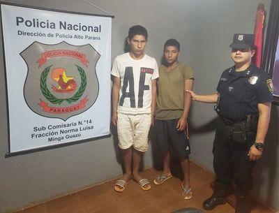 Detienen en Minga Guazú a los presuntos asesinos del taxista