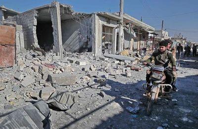 Suben a 21 los muertos en ataques de Damasco contra noroeste de Siria