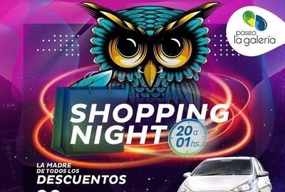 HOY / Noche Shopping, la madre de todos los descuentos en Paseo La Galería