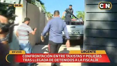 Taxistas exigen justicia ante presencia de sospechosos