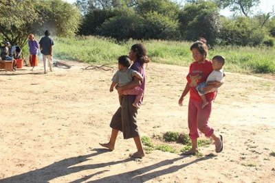 Comunidad Mbya Guarani de Caaguazú denuncia el desamparo del  INDI
