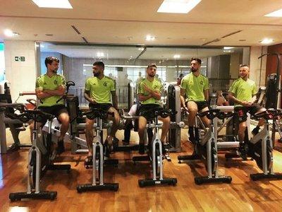 Flamengo realizó trabajos regenerativos en Doha
