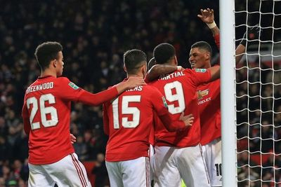 City, United y Leicester, a semifinales