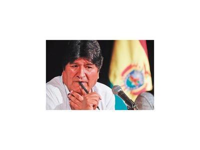 Fiscalía boliviana ordena  la captura del ex presidente Morales