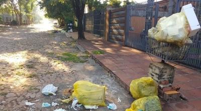 HOY / Lambaré en crisis y abandono: recolección de basura a media máquina