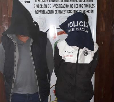 Caen sospechosos del asesinato de una mujer en Concepción