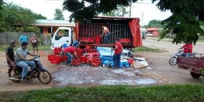 Concepción: Enorme bache perjudica a trabajadores