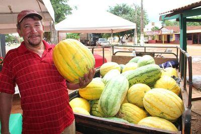 Sandía amarilla es la novedad en la Expo de Alto Paraná