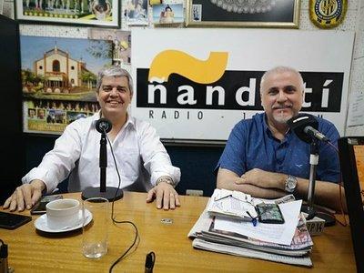 """Enrique Riera: """"La meta es ser presidente del Partido Colorado"""""""