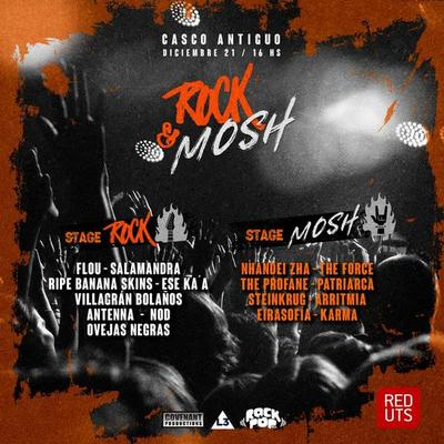 Rock & Mosh Festival en su primera edición este sábado en Casco Antiguo