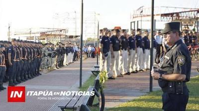 LA POLICÍA LANZÓ OFICIALMENTE EL OPERATIVO VERANO SEGURO EN ITAPÚA