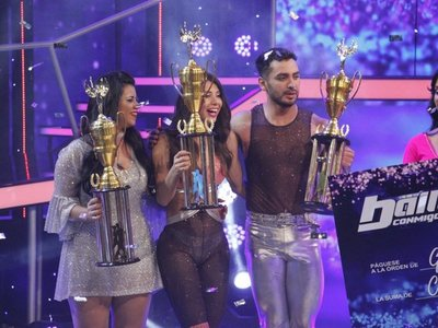 Rocío y Diego, ganadores del Baila Conmigo Paraguay 2019