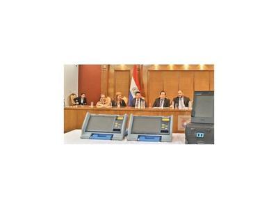El TSJE iniciará capacitaciones con las máquinas de votación en marzo