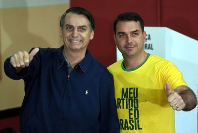 Hijo de Bolsonaro, bajo investigación