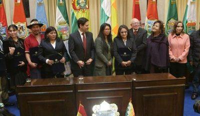 Designaron al presidente y a la vicepresidente del nuevo Tribunal Electoral de Bolivia