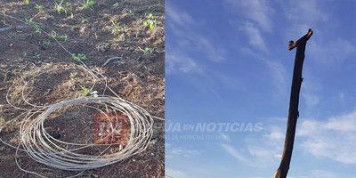 Hombre fallece electrocutado en Yatytay