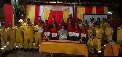 Bomberos de Ayolas celebraron 20 años de vida institucional
