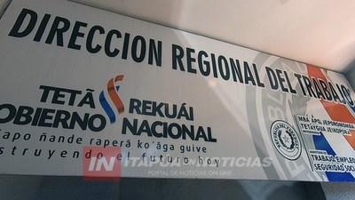 REGIONAL DEL MINISTERIO DE TRABAJO EXPLICA PROCEDIMIENTOS EN CASO BANCO RIO.