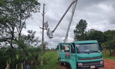 Suministro de energía eléctrica ya fue reestablecido en varias zonas