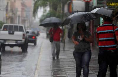 Principales lluvias se darán en el norte del país