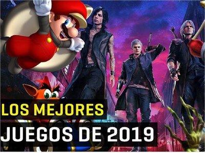 ¿Cuáles fueron los mejores videojuegos del 2019?