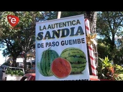 EXITOSA FERIA DE SANDÍA EN PLAZA DE ARMAS DE ENCARNACIÓN