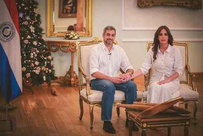 Mario Abdo desea felices fiestas a los paraguayos y pide unidad